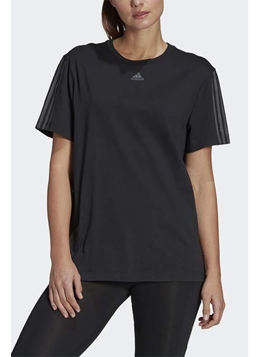 adidas Adidas Kadın Günlük T-Shirt W Dk T Gl1422 Siyah